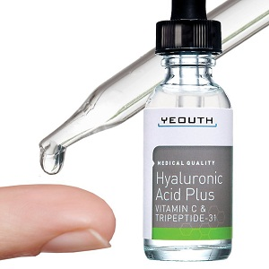 Yeouth Hyaluronic Acid Plus with Vitamin C & Tripeptide-31