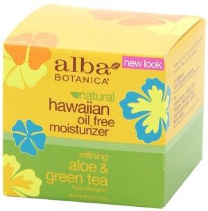 Alba Botanica Hawaiian, Aloe & Green Tea Oil-Free Moisturizer