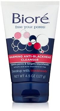 Biore Warming Anti-Blackhead Cleanser