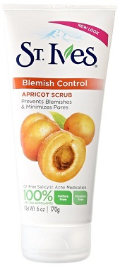 St. Ives Apricot Scrub, Blemish Control