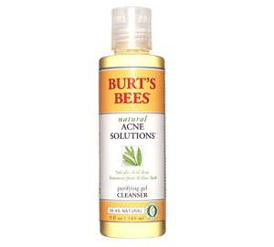 Burt's Bees Natural Acne Solutions Purifying Gel Cleanser