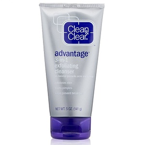 Clean & Clear ADVANTAGE 3-In-1 Exfoliating Cleanser