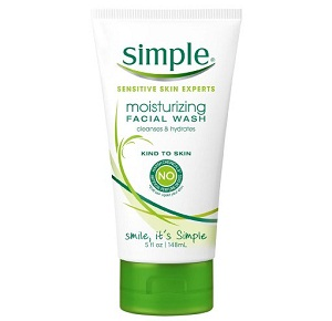 Simple Moisturizing Face Wash