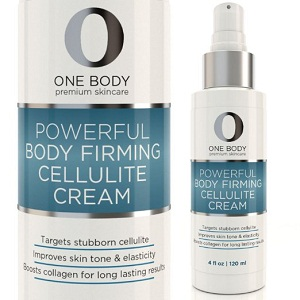Powerful Body Firming Cellulite Cream by One Body