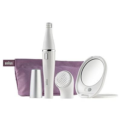 Braun SE830 Face Epilator and Facial Cleansing Brush
