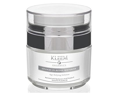 Kleem Organics Advanced 2.5% Retinol Moisturizer