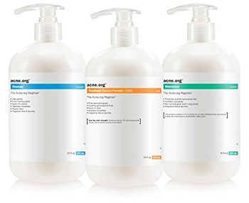 "The Acne.org Regimen - Complete Acne Treatment ""Big Kit"""