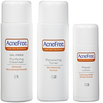Acnefree 24 Hour Acne Clearing System Kit