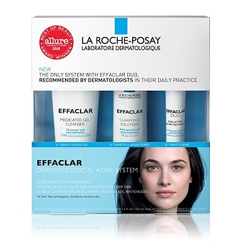 La Roche-Posay Effaclar Dermatological Acne Treatment System