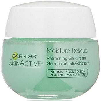 Garnier SkinActive Moisture Rescue Refreshing Gel-Cream, Normal/Combo Skin